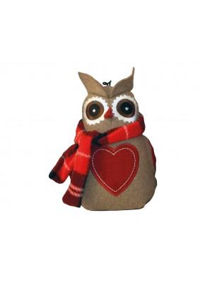 Happy Pet Otis Owl Dog Toy