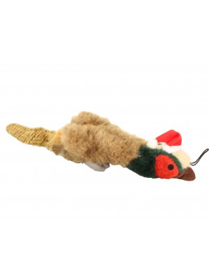 Happy Pet Festive Pheasant Empty Nester Dog Toy