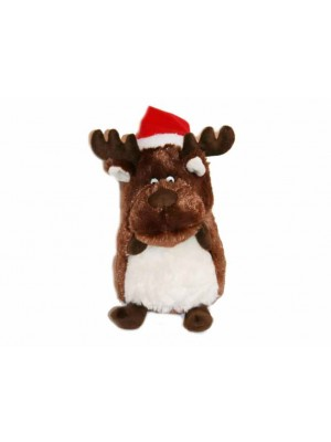 Petface Christmas Moose Dog Toy