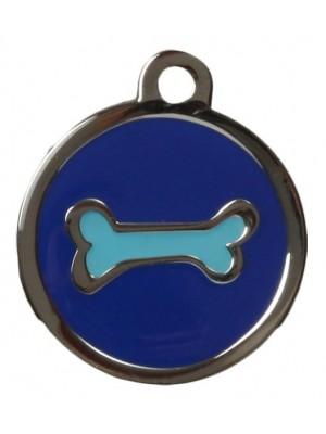 Blue Bone ID Tag