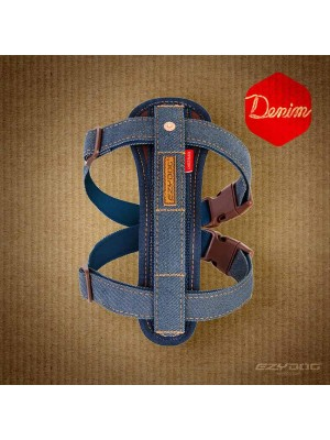 EzyDog Denim Chest Plate Harness