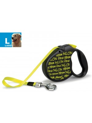 Flexi Neon Retractable Leads