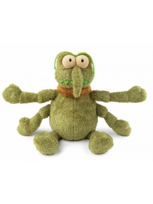 FuzzYard Scratchy the Green Flea Dog Toy