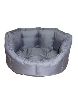 Gor Pets Deluxe Cosy Dog Bed Grey Nylon