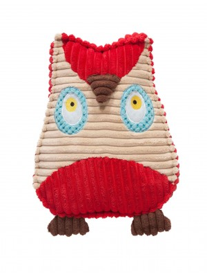 Danish Design Owen the Owl Soft Dog Toy