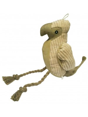 Peter the Natural Parrot Dog Toy by Danish Design
