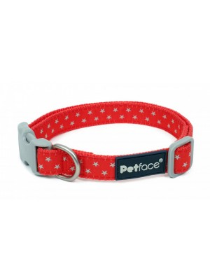 Petface Grey Stars Dog Collar