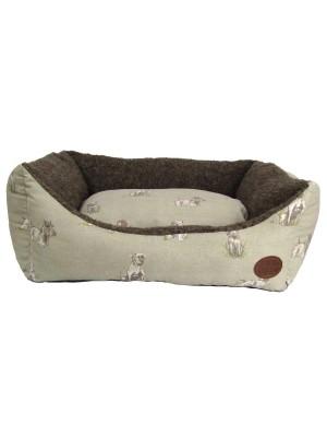 Pooch Print Dog Bed
