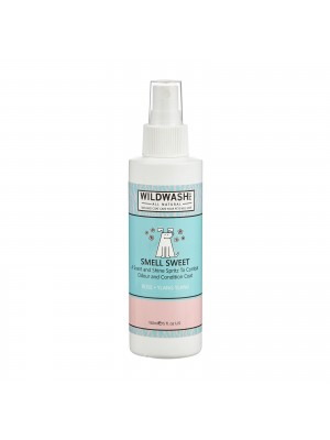 WildWash PET Dog Spritz Spray Smell Sweet 150ml