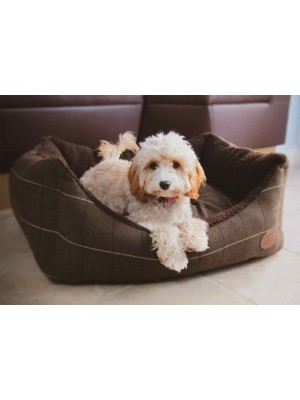 Cambridge Tweed Dog Bed