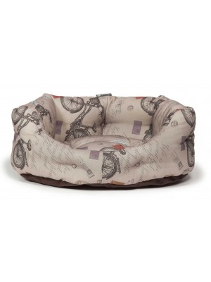 Danish Design Vintage Bicycles Deluxe Slumber Dog Bed