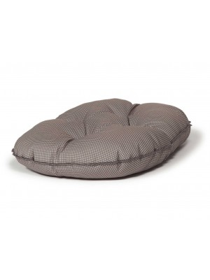 Danish Design Vintage Dogstooth Luxury Quilted Mattress Dog Bed