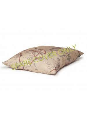 Danish Design Vintage Maps Spare Duvet Cover