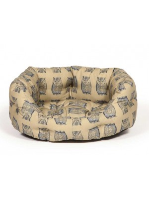 Danish Design Woodland Owl Deluxe Slumber Dog Bed
