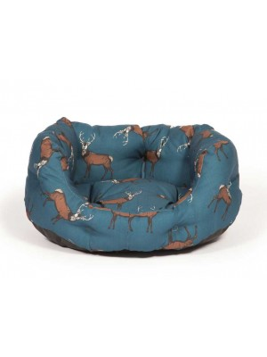 Danish Design Woodland Stag Deluxe Slumber Dog Bed
