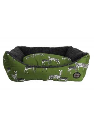 Sage Deer Dog Bed