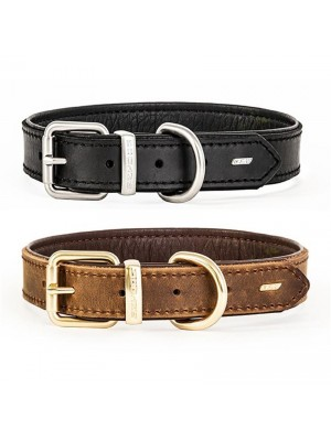 EzyDog Oxford Leather Classic Dog Collar