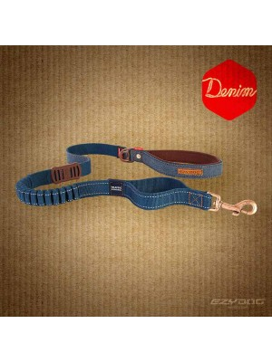 EzyDog Denim Zero Stock Dog Lead