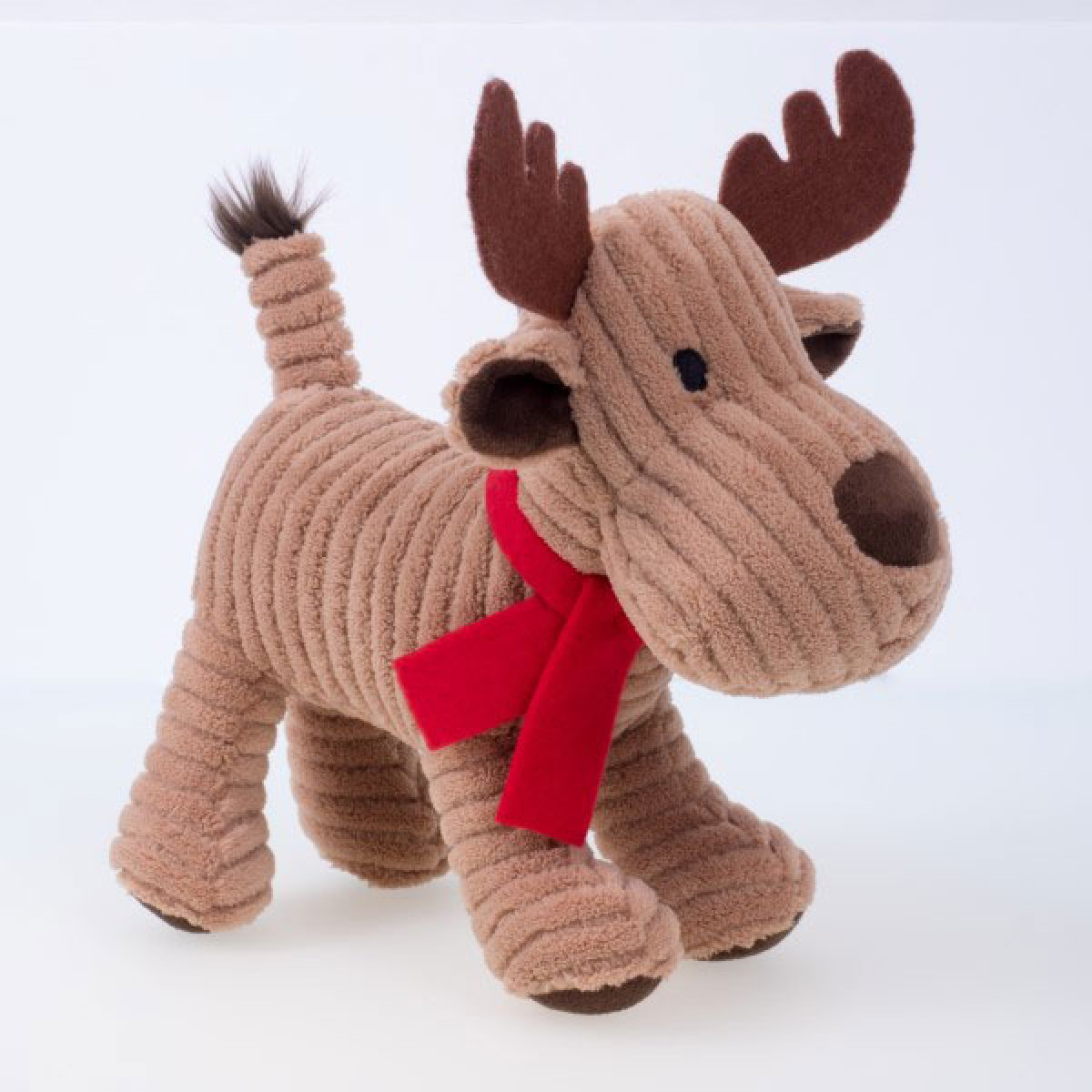 Cord Reindeer Dog Toy By Petface Christmas Dog Toys