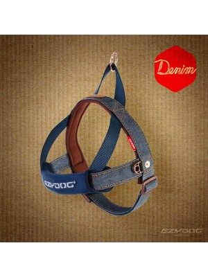 EzyDog Quick Fit Harness - Denim