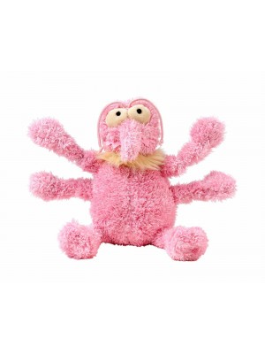 FuzzYard Scratchette the Pink Flea Dog Toy