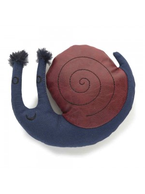 Danish Design Samuel the Snail Plush Dog Toy