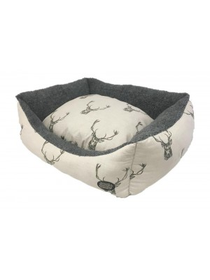 Snug & Cosy Stag Dog Bed