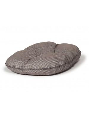 Danish Design Vintage Dogstooth Luxury Quilted Mattress Dog Bed