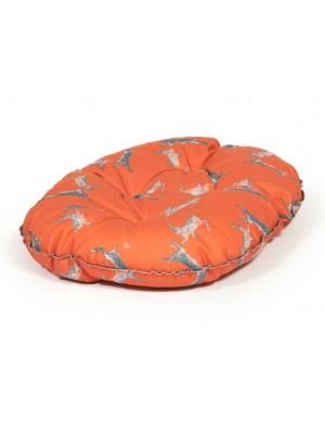 Danish Design Woodland Hares Luxury Quilted Mattress Dog Bed