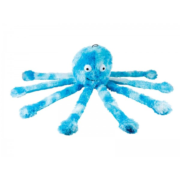 Latex octopus dog toy