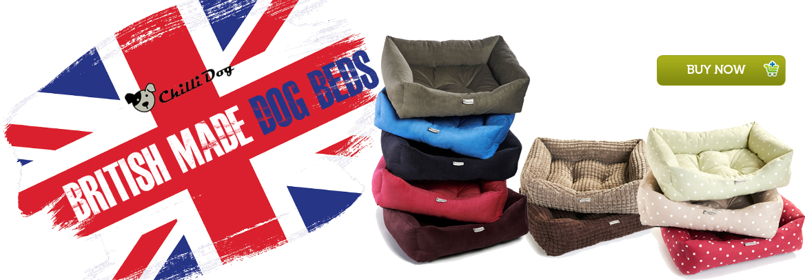 Chilli Dog British Made Dog Beds